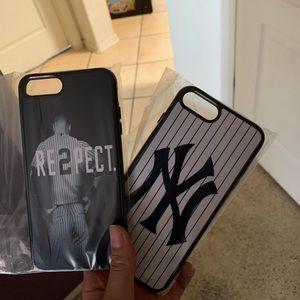 Accessories - iPhone 8 Plus New York yankee cases